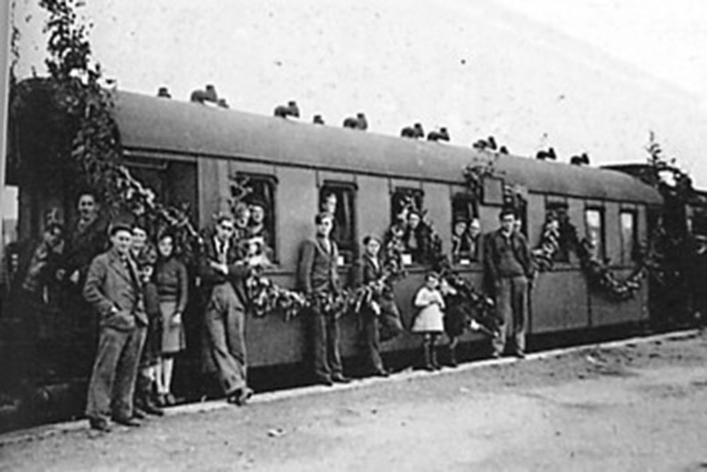 From 1939 to 1940: Evacuation – Phony war and collapse, May-June 1940