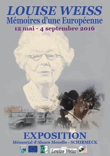 12/05/16 – 04/09/16 : Louise Weiss. Mémoires d'une Européenne