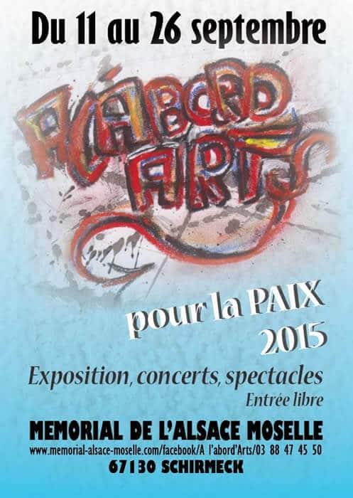 11/09/15 – 26/09/15 : Festival à l'abord'Arts
