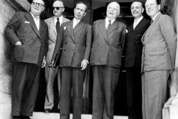 L'Europe à petits pas de 1955 à 1960