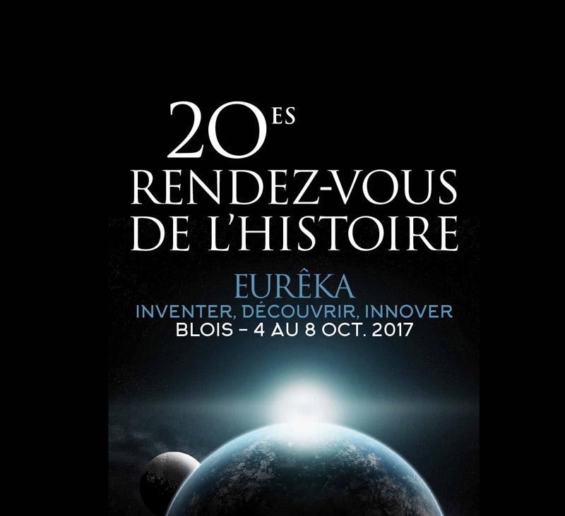 Le mémorial aux rendez-vous de l'Histoire à Blois