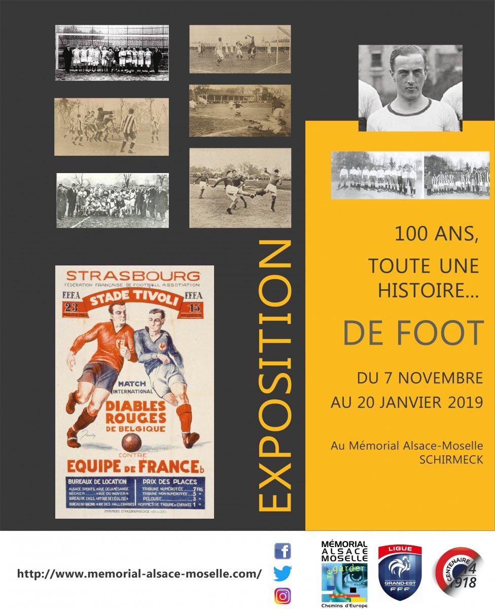 100 ans toute une histoire… de foot